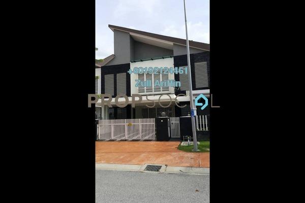 Terrace For Sale in Temasya Suria, Temasya Glenmarie Freehold Semi Furnished 6R/7B 1.85m