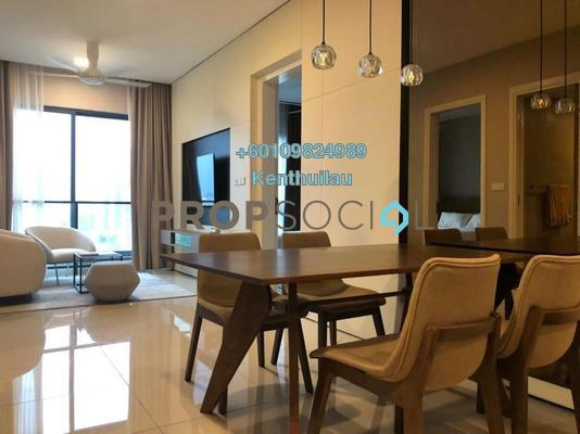 Condominium For Sale in Aria, KLCC Freehold Fully Furnished 2R/2B 1.55m