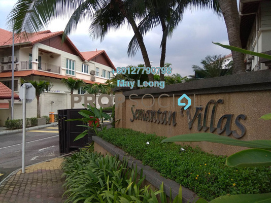 Semi-Detached For Rent in Semantan Villas, Damansara Heights Freehold Unfurnished 4R/5B 7.5k