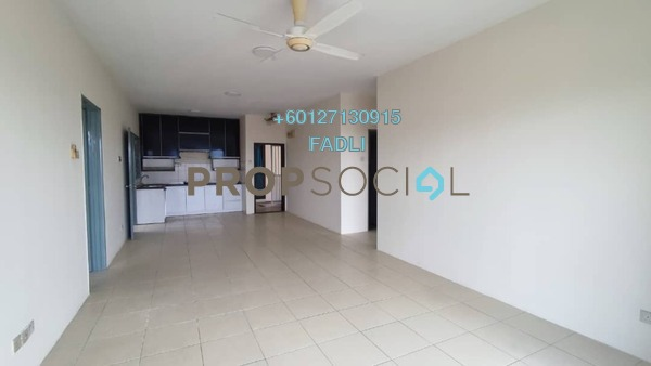 Condominium For Sale in Platinum Lake PV12, Setapak Freehold Semi Furnished 3R/2B 380k