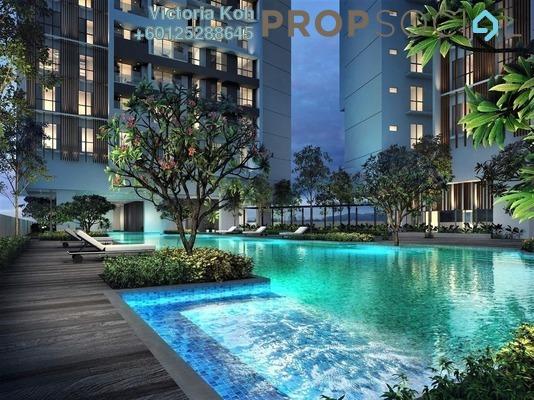 Serviced Residence For Sale in Panorama Residences, Kelana Jaya Freehold Semi Furnished 2R/1B 580k