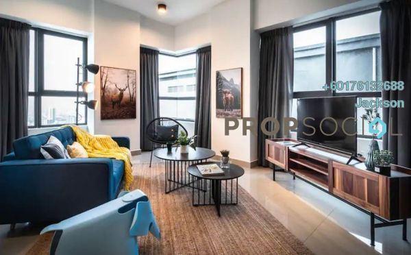Condominium For Sale in K Residence, KLCC Freehold Semi Furnished 2R/2B 260k