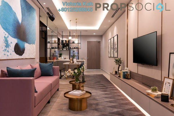 Serviced Residence For Sale in The Arcuz, Kelana Jaya Leasehold Semi Furnished 2R/1B 560k