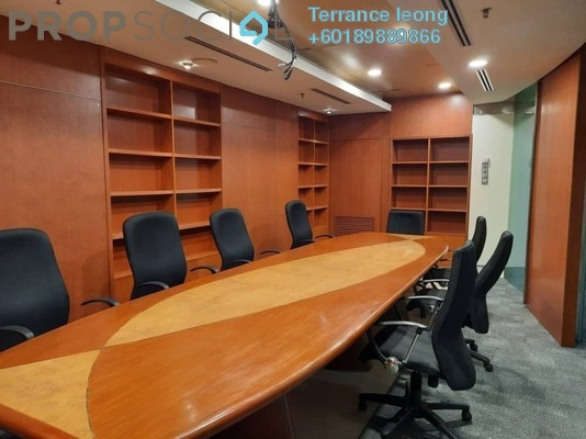 Office For Sale in Plaza Mont Kiara, Mont Kiara Freehold Semi Furnished 0R/0B 2.25m