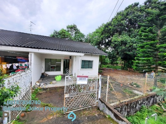 Terrace For Rent in Taman Melodies, Johor Bahru Freehold Unfurnished 3R/2B 1.1k