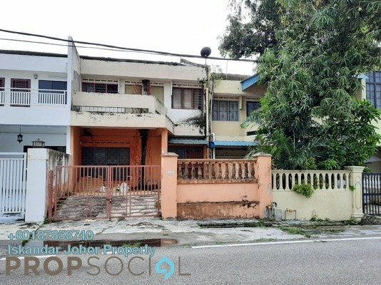 Terrace For Rent in Taman Sentosa, Johor Bahru Freehold Unfurnished 6R/4B 1.1k