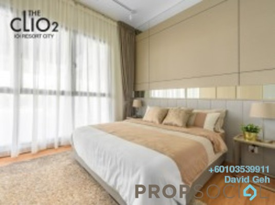 Condominium For Sale in The Clio 2 Residences, IOI Resort City Freehold Semi Furnished 3R/2B 492k