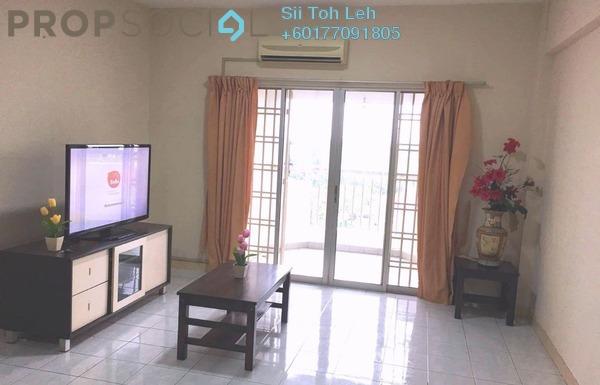 Apartment For Rent in Permas Ville, Bandar Baru Permas Jaya Freehold Fully Furnished 3R/2B 1.35k