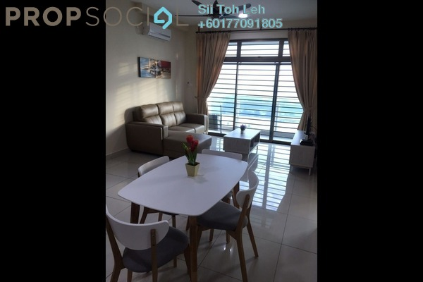 Apartment For Rent in Parc Regency, Johor Bahru Freehold Fully Furnished 2R/2B 1.3k