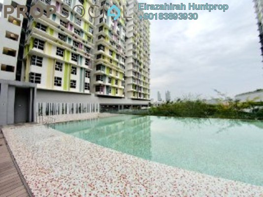 Apartment For Sale in The Domain, Cyberjaya Freehold Fully Furnished 2R/2B 350k
