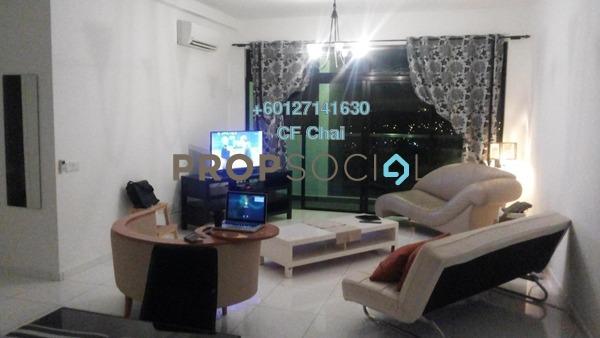 Serviced Residence For Rent in Sky Loft, Bukit Indah Freehold Fully Furnished 2R/2B 2.2k