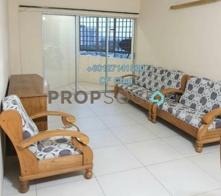 Apartment For Rent in Sri Impian Apartment, Johor Bahru Freehold Semi Furnished 3R/2B 1.2k