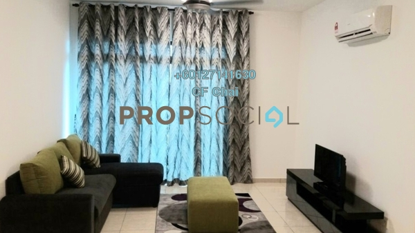 Serviced Residence For Rent in Sky Breeze, Bukit Indah Freehold Fully Furnished 3R/2B 2.6k