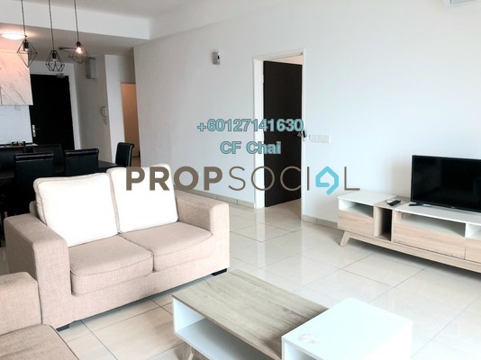 Serviced Residence For Rent in Sky Breeze, Bukit Indah Freehold Fully Furnished 3R/3B 2.8k