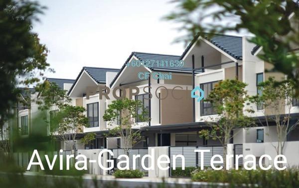 Terrace For Sale in Avira, Medini Freehold Unfurnished 3R/4B 811k