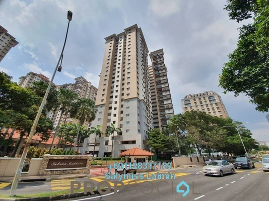 Condominium For Sale in Kelana Mahkota, Kelana Jaya Freehold Semi Furnished 4R/2B 680k