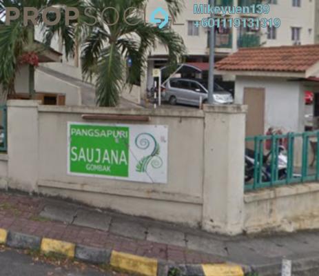 Condominium For Rent in Saujana Gombak Apartment, Batu Caves Freehold Semi Furnished 3R/2B 1.3k