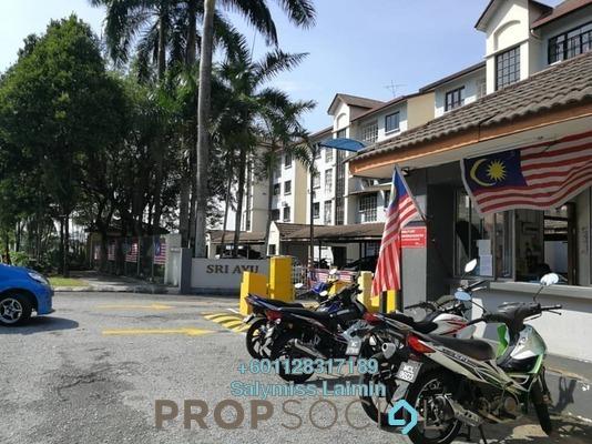 Apartment For Sale in Sri Ayu, Setiawangsa Freehold Semi Furnished 3R/2B 470k