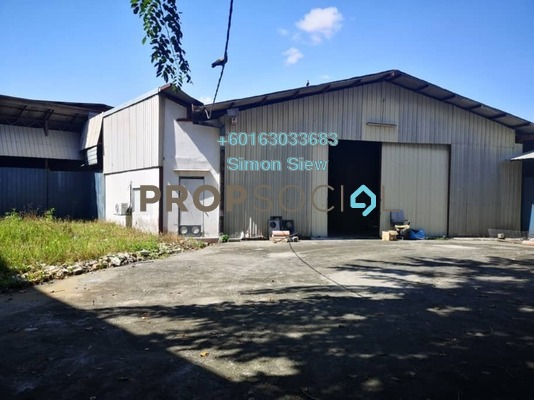 Factory For Rent in Kampung Cheras Baru, Cheras Freehold Unfurnished 0R/0B 15k