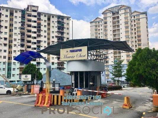 Apartment For Sale in Taman Setiawangsa, Setiawangsa Freehold Semi Furnished 3R/2B 395k