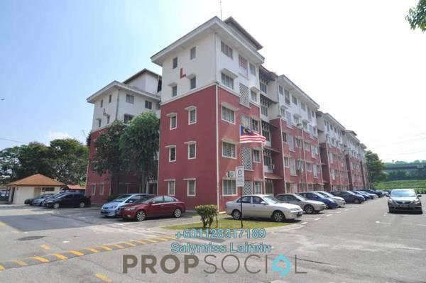 Apartment For Sale in Desa Mutiara Apartment, Mutiara Damansara Freehold Semi Furnished 3R/2B 199k
