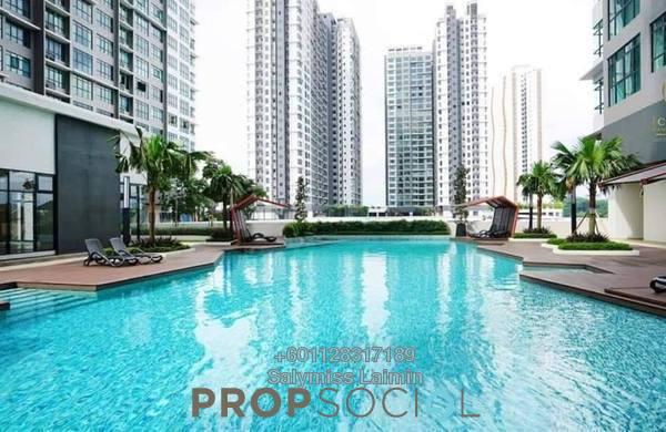 Condominium For Sale in Conezión, IOI Resort City Freehold Semi Furnished 3R/2B 530k