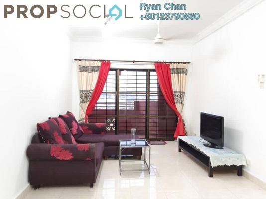 Condominium For Rent in Villamas Apartment, Bandar Puchong Jaya Freehold Semi Furnished 3R/2B 1.3k