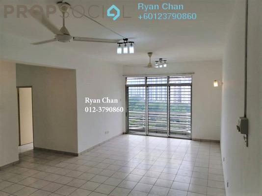 Condominium For Sale in Impian Heights, Bandar Puchong Jaya Freehold Semi Furnished 3R/2B 375k