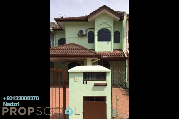 Terrace For Sale in Section 7, Shah Alam Freehold Semi Furnished 5R/3B 700k