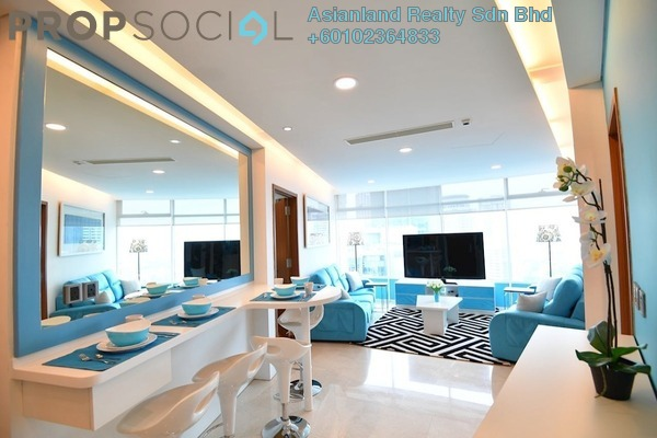 Serviced Residence For Sale in Vortex Suites & Residences, KLCC Freehold Fully Furnished 2R/2B 1.1m