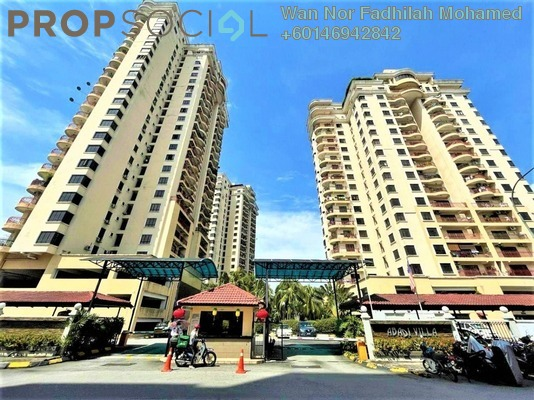 Condominium For Sale in Abadi Villa, Taman Desa Freehold Semi Furnished 3R/2B 520k