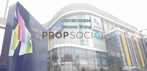 Shop For Sale in The Summit, UEP Subang Jaya Freehold Semi Furnished 0R/0B 760k