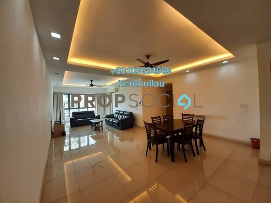 Condominium For Rent in Covillea, Bukit Jalil Freehold Fully Furnished 3R/3B 3.2k