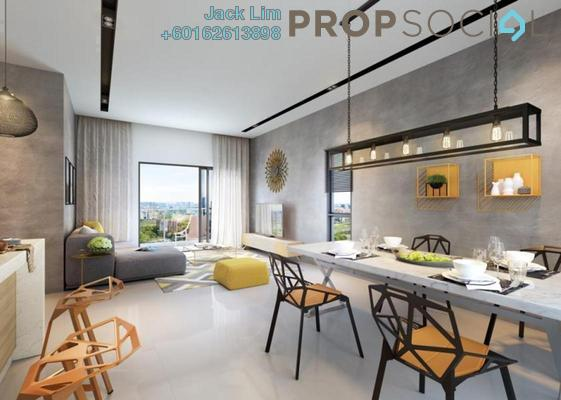 Serviced Residence For Sale in TRIO by Setia, Klang Freehold Unfurnished 3R/3B 670k