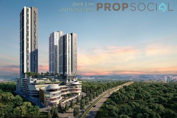 Serviced Residence For Sale in TRIO by Setia, Klang Freehold Unfurnished 3R/3B 611k