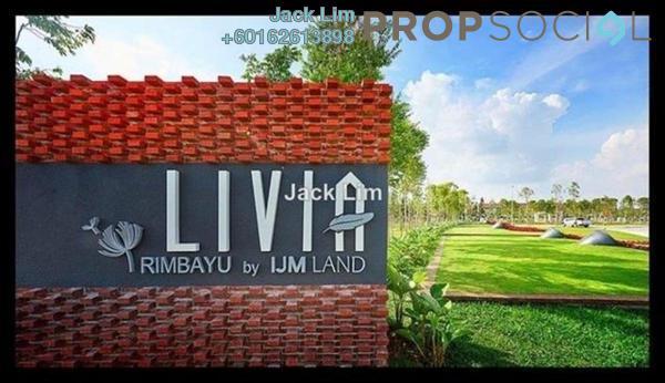Link For Rent in Livia, Bandar Rimbayu Freehold Unfurnished 3R/3B 1.3k