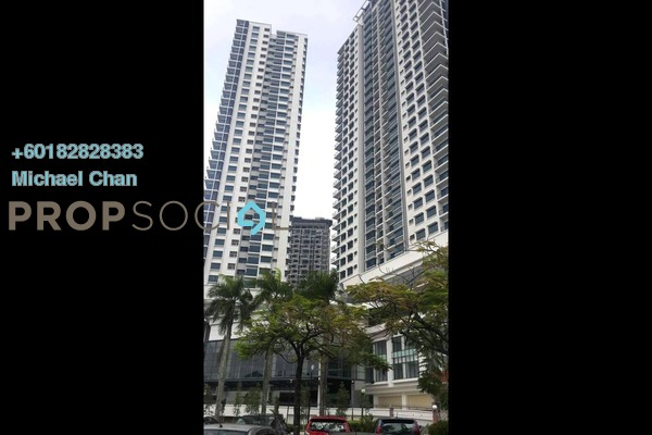 Serviced Residence For Rent in The Link 2 @ Bukit Jalil, Bukit Jalil Freehold Semi Furnished 2R/2B 1.8k