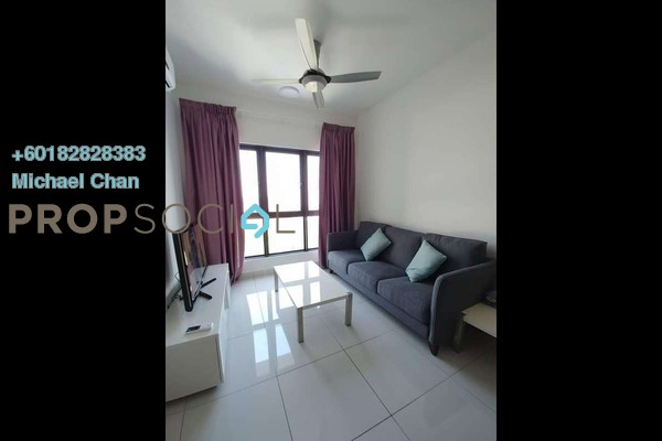 Serviced Residence For Rent in The Link 2 @ Bukit Jalil, Bukit Jalil Freehold Fully Furnished 2R/1B 2.4k