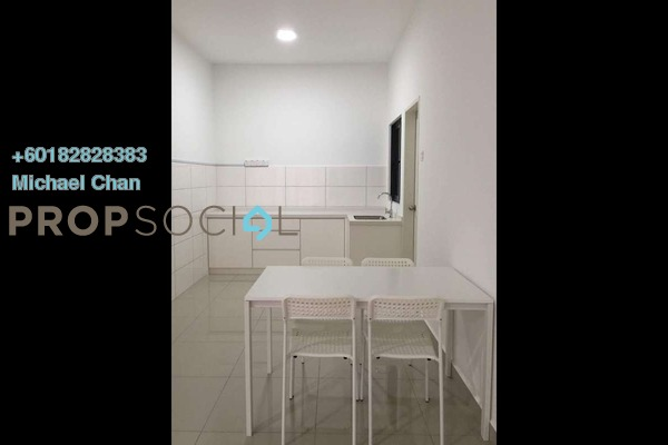 Serviced Residence For Rent in Parkhill Residence, Bukit Jalil Freehold Semi Furnished 3R/2B 2k