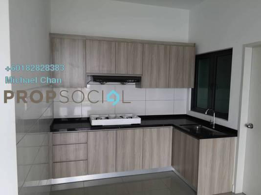 Serviced Residence For Rent in Parkhill Residence, Bukit Jalil Freehold Semi Furnished 3R/2B 1.8k