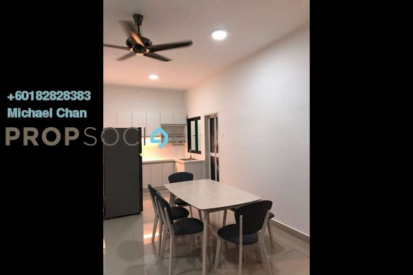 Serviced Residence For Rent in Parkhill Residence, Bukit Jalil Freehold Fully Furnished 3R/2B 2.7k