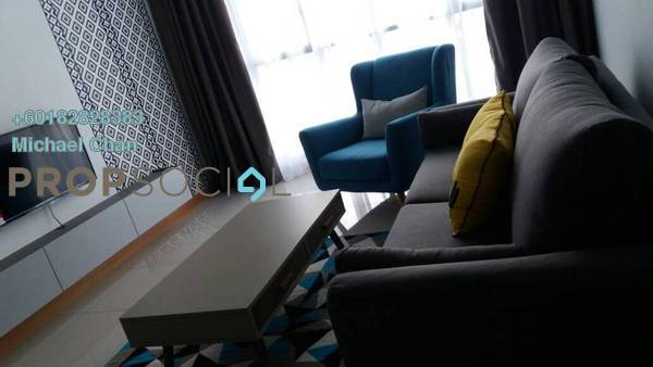 Serviced Residence For Rent in KL Gateway, Bangsar South Freehold Fully Furnished 2R/2B 3.6k