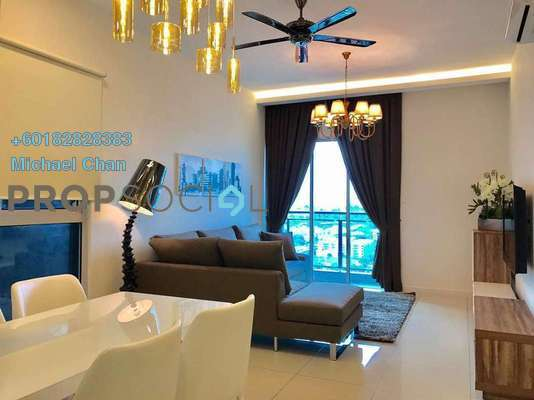 Condominium For Rent in Sunway GEO Residences, Bandar Sunway Freehold Fully Furnished 2R/2B 3.1k