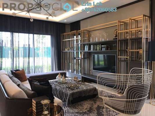 Semi-Detached For Sale in Cheria, Tropicana Aman Leasehold Unfurnished 5R/5B 1.45m