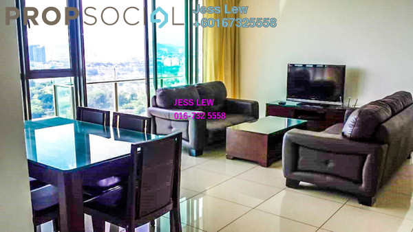 Condominium For Rent in Setia Sky Residences, KLCC Freehold Fully Furnished 2R/2B 3.5k
