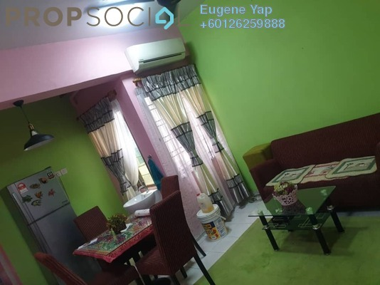 Serviced Residence For Rent in Mutiara Complex, Sentul Freehold Fully Furnished 2R/2B 1.2k
