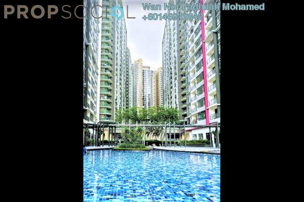 Condominium For Sale in Casa Green, Bukit Jalil Freehold Semi Furnished 3R/3B 500k