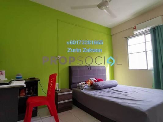 Apartment For Sale in Cemara Apartment, Bandar Sri Permaisuri Freehold Semi Furnished 3R/2B 330k