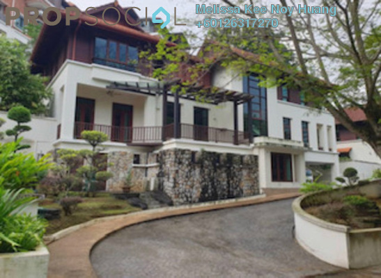 Bungalow For Sale in Federal Hill, Bangsar Freehold Semi Furnished 7R/7B 8.5m