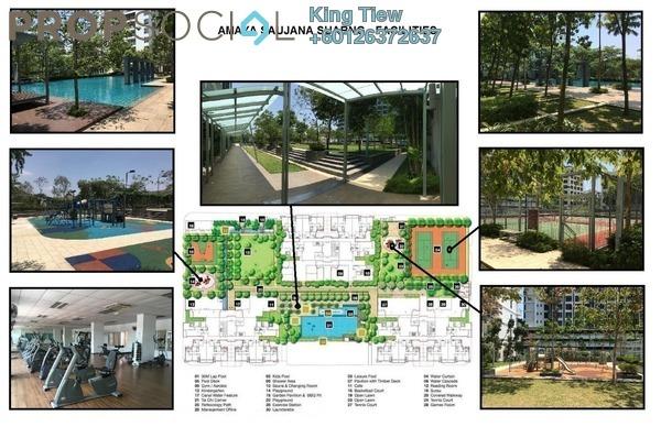 Condominium For Rent in Amaya Saujana, Saujana Freehold Fully Furnished 3R/3B 3.3k